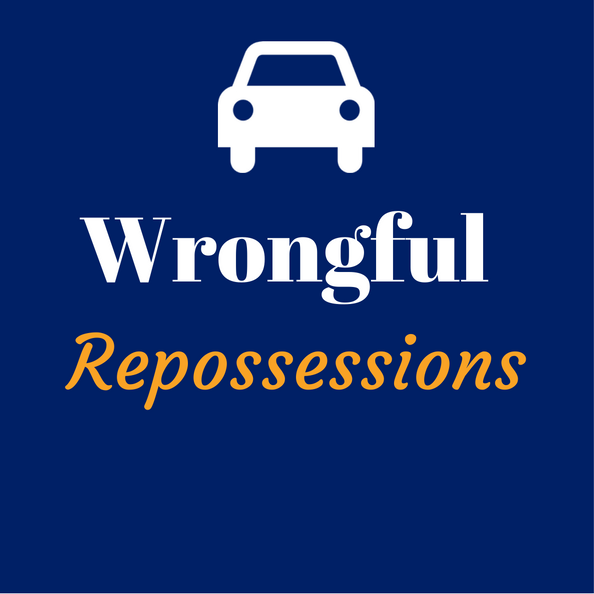 wrongful repossession help san diego california