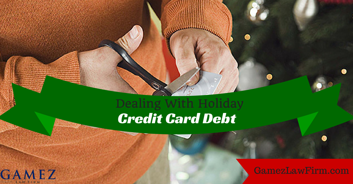 holiday credit card debt help