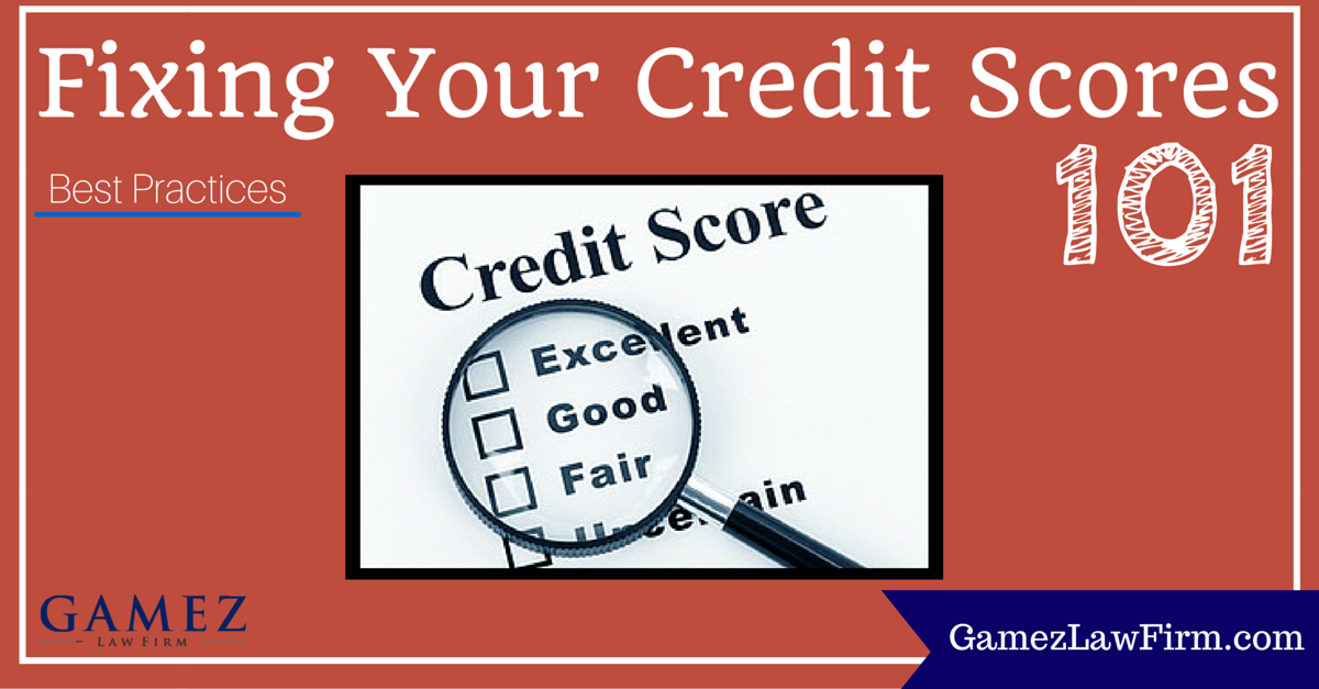 best ways to fixing your credit score