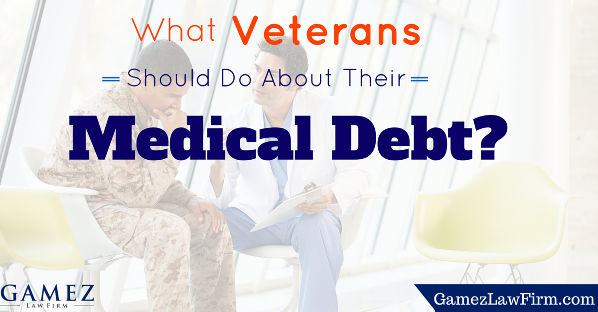 What veterans should do about medical debt