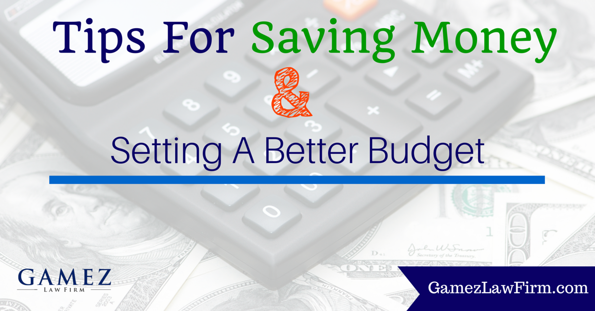 tips for saving money and budget tips