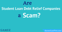 Are student loan debt relief companies a scam