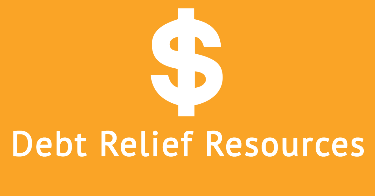 debt relief resources for debt help