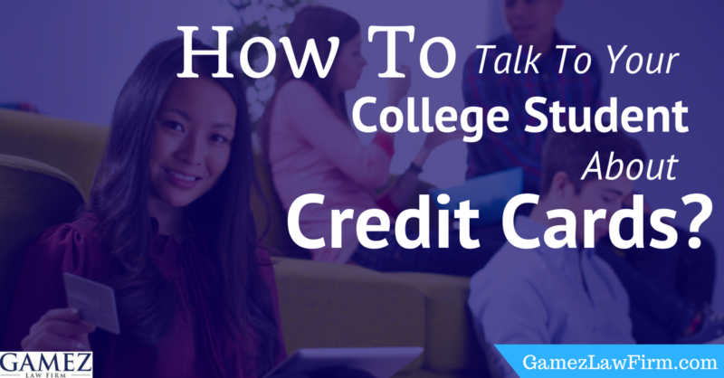 How to Talk to Your College Student about Credit Cards