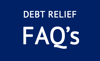 debt relief faqs