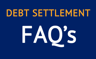 debt settlement frequently asked questions