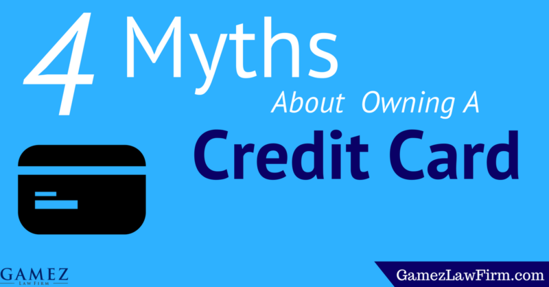 myths about owning a credit card
