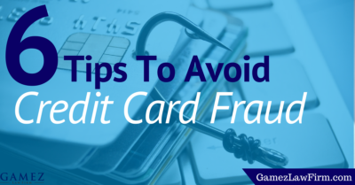 tips to avoid credit card fraud