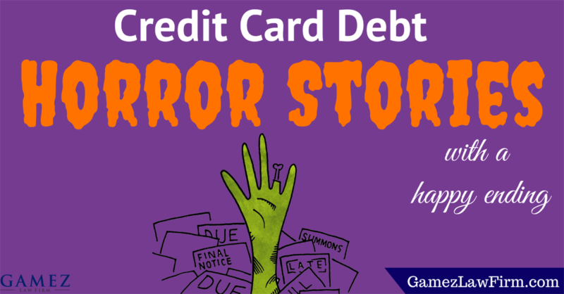 credit card debt horror stories