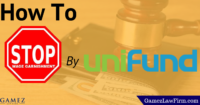 how to avoid wage garnishment from unifund