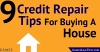 credit repair tips for buying a new house
