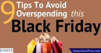 tips to avoid overspending on black friday