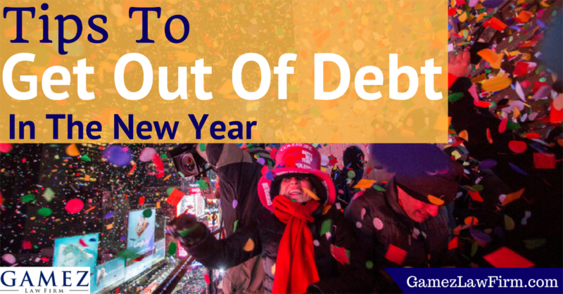 tips to get out of debt in the new year