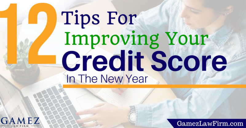 tips for improving your credit score in the new year
