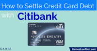 how to settle credit card debt with citibank