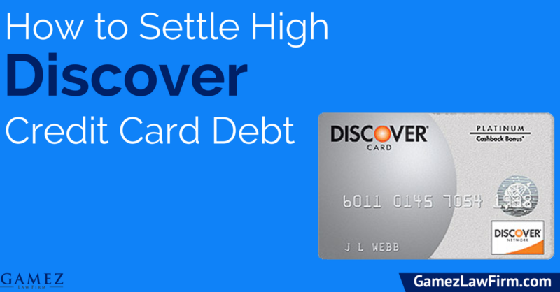 How to Settle Credit Card Debt with Discover
